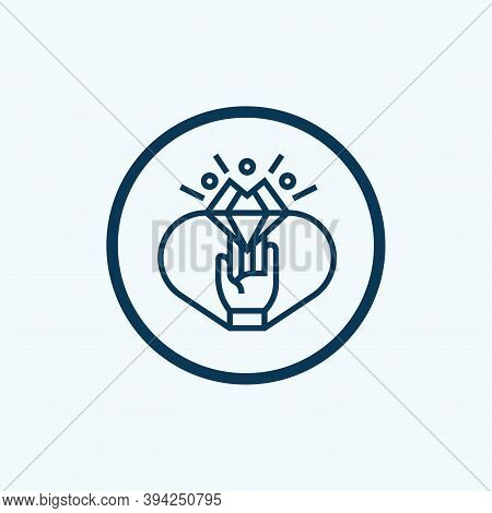 Achievement Icon Isolated On White Background From Videogame Elements Collection. Achievement Icon T