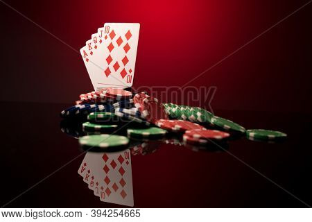 A High stakes Poker game