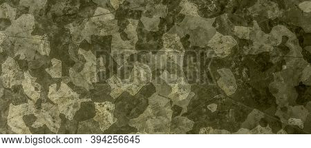 Khaki Texture Background. Watercolour Camouflage Uniform. Grey War Pattern. Graphic Geometric Shirt.