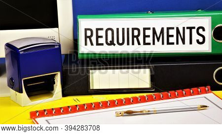 Requirements. Text Label On The Office Registrar's Folder. Important Knowledge For Future Performanc