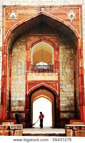 Humayun's Tomb, Delhi, India - the tomb of second Mughal Emperor