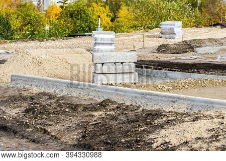 Improvement Of The Infrastructure Of The City Park, Earthworks For The Construction Of New Paths