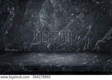Marble Stone Top Table Grunge Texture Background For Use Display Product.
