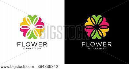 Nature Flower Logo Premium Vector  Premium Logo