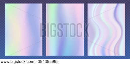 Holographic Foil. Abstract Wallpaper Background. Hologram Texture. Premium Quality.