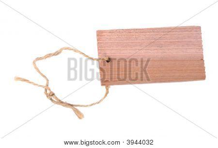 Wooden Label