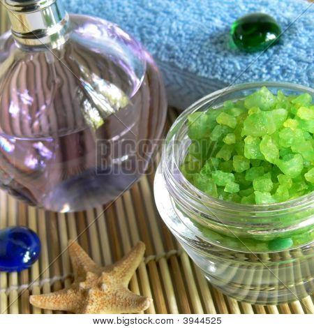 Spa Salt And Oil