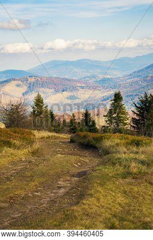 Autumn Mountain Landscape Wielka Racza