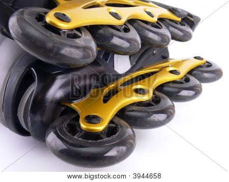 Two Roller Blades