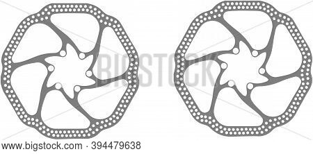 Pair Of Disc Brakes For Bicycle Pair Of Disc Brakes For Bicycle