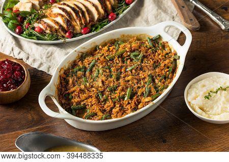 Homemade Thanksgiving Green Bean Casserole