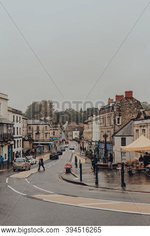 Frome, Uk - October 07, 2020: View Of Market Place Street In Frome, A Market Town In The County Of S