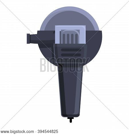 Craft Grinding Machine Icon. Cartoon Of Craft Grinding Machine Vector Icon For Web Design Isolated O