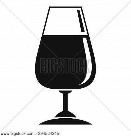 Winery Glassware Icon. Simple Illustration Of Winery Glassware Vector Icon For Web Design Isolated O