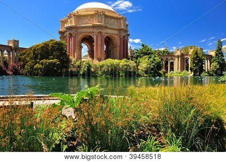 San Francisco Park Palace Of Fine Arts