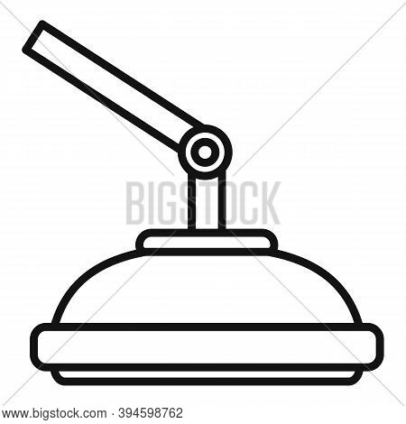 Operation Surgical Light Icon. Outline Operation Surgical Light Vector Icon For Web Design Isolated