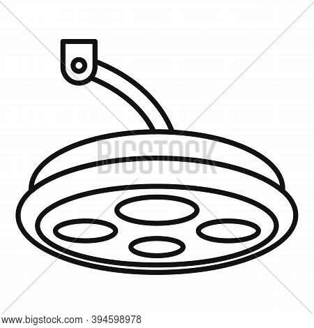 Sterile Surgical Light Icon. Outline Sterile Surgical Light Vector Icon For Web Design Isolated On W