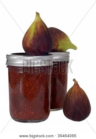 Homemade Fig Jam With Figs