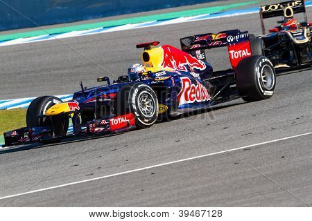 Team Red Bull F1, Sebastian Vettel, 2012