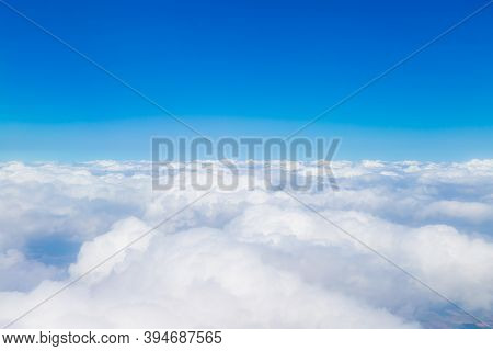 Beautiful And Spectacular Blue Sky, High-altitude Cloud Scenery Around The World,
