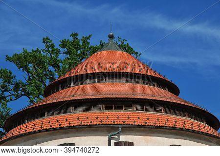 Judgement Tower In Maribor City, Nord Slovenia
