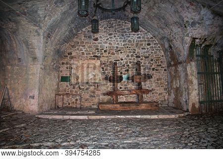 Stari Bar, Montenegro - 07 May 2018: Ancient Ruins Of Stari Bar, Montenegro
