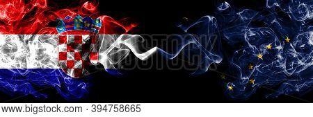 Croatia, Croatian Vs United States Of America, America, Us, Usa, American, Alaska, Alaskan Smoky Mys