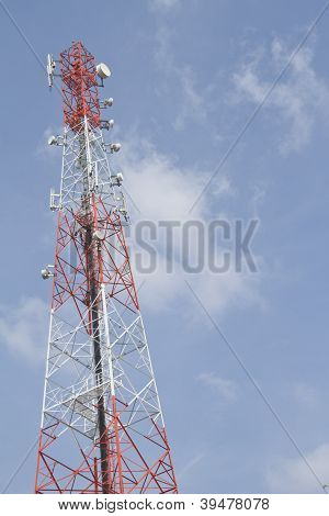 Mobile tower communication antennas