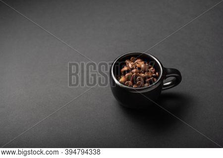 A Mug Of Black Coffee. A Mug Of Invigorating Coffee. A Mug Of Strong Coffee. Low Key.