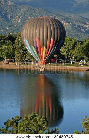 hot air ballooning flight
