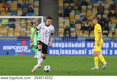 Kyiv, Ukraine - October 10, 2020: Midfielder Julian Draxler Of Germany In Action During The Uefa Nat