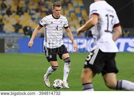 Kyiv, Ukraine - October 10, 2020: Defender Matthias Ginter Of Germany In Action During The Uefa Nati