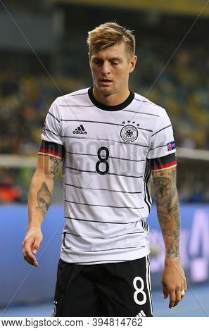 Kyiv, Ukraine - October 10, 2020: Midfielder Toni Kroos Of Germany In Action During The Uefa Nations