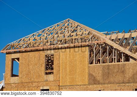 Construction Of Prefabricated Buildings New Plywood Wooden