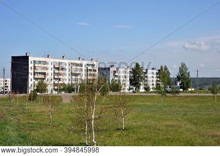 Jurga, Siberia, Russia - June 7,2011:the City Of Yurga In The Kemerovo Region Of Western Siberia