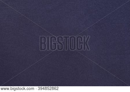 Violet Homogeneous Background With A Textured Surface. Violet Fabric.