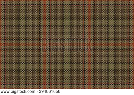 Plaid Pattern Seamless Vector Background. Tartan Check Stripe Texture For Flannel Shirt Or Other Mod
