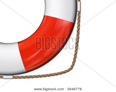 3D Lifeguard Closeup