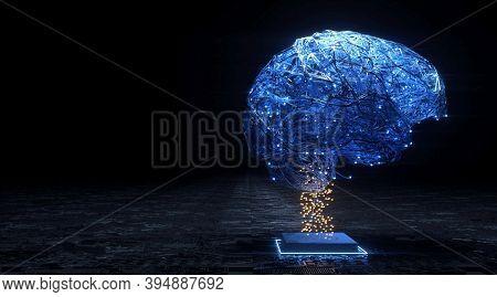 Futuristic Modern Hi-tech Background For Digital Technology, Innovation Medicine, Science, Research
