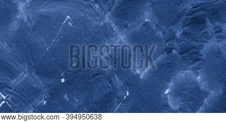 Indigo Watercolor Diagonal. Dark Blue Geometric Grunge. Indigo Watercolor Rhombus. Abstract Geometry