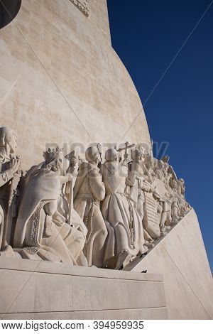 Monument Of The Discovery At Lisboa - Portugal