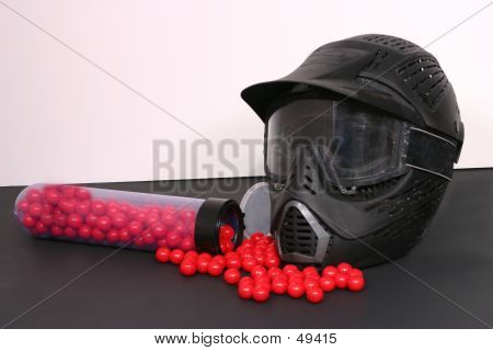 Red Paintballs