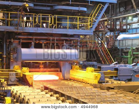 Production Of The Steel Sheet.
