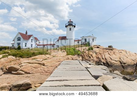 The Eastern Point Lighthouse In Gloucester