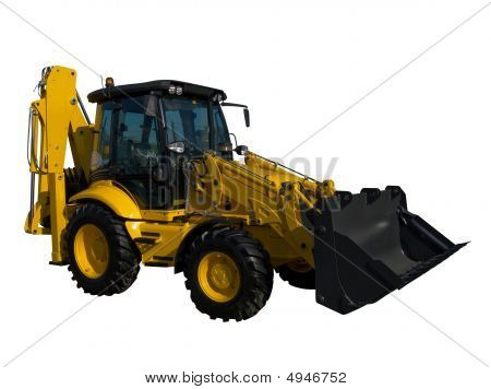 New Yellow Tractor