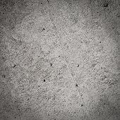 Dark grey grunge wall concrete and cement textured background poster