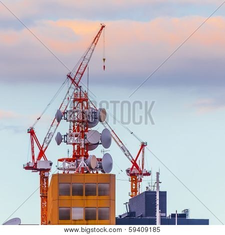 Mobile Telephone Radio Tower
