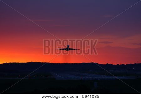 Jet Airliner Takeoff