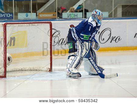 Eremenko A. (1), Goaltender On A Gate