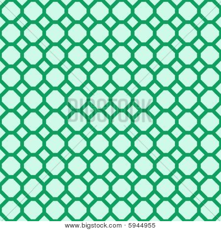 Green seamless pattern. Vector illustration